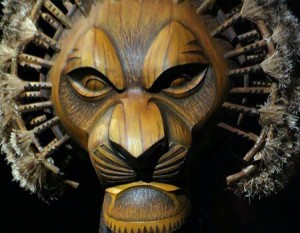 Patine masque Mufasa - Le Roi Lion