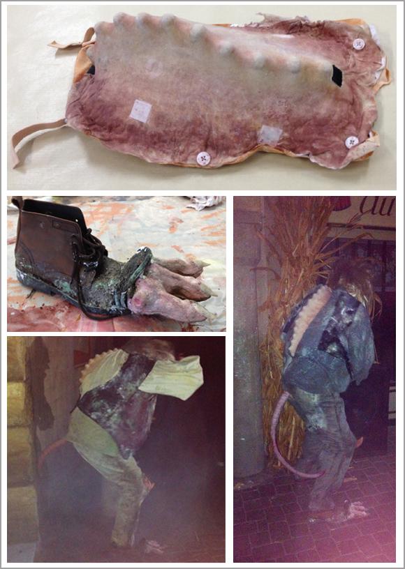 prothèses de rats-mutants